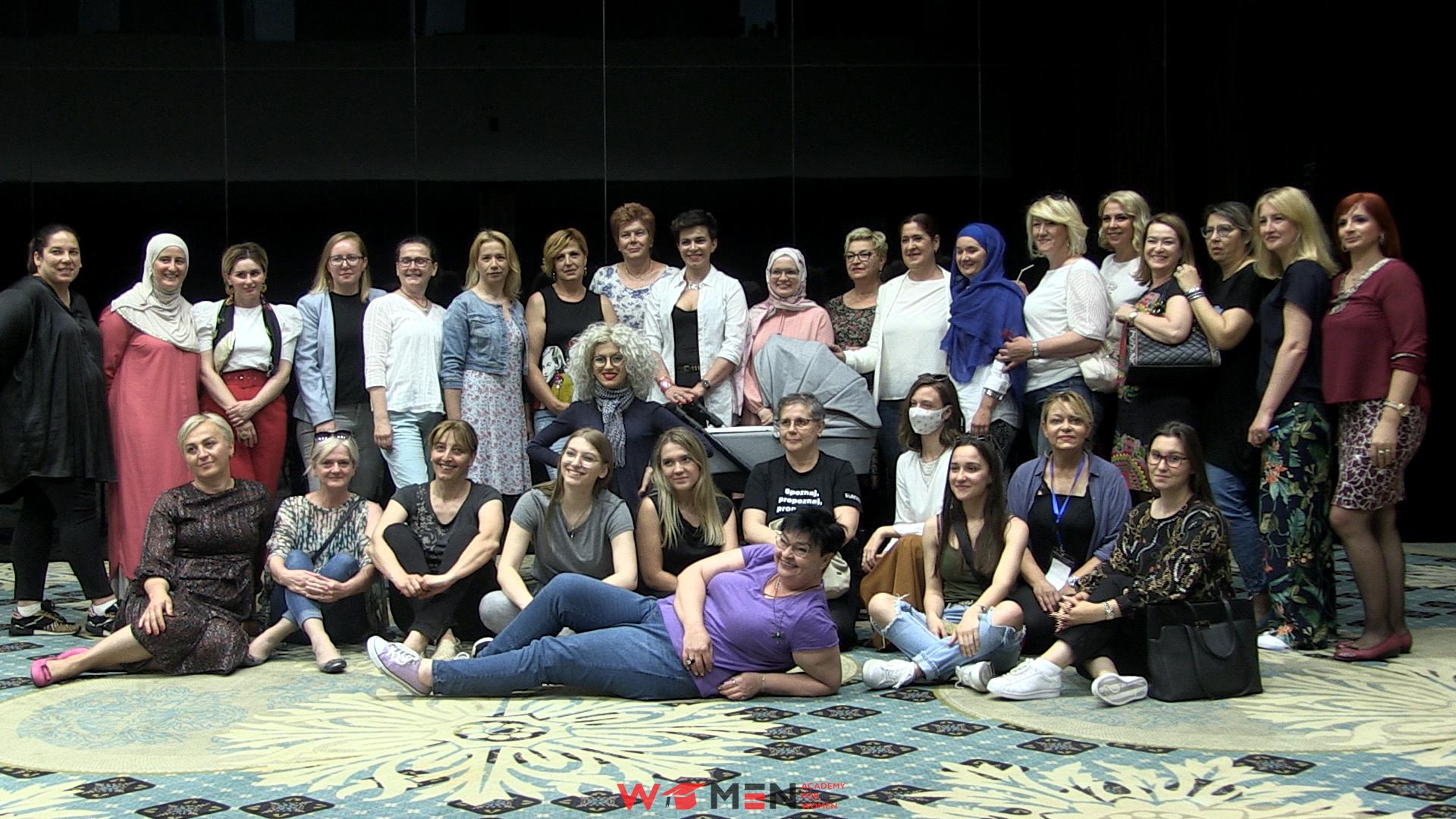 Žene za žene: sve tri grupe, finalni događaj, 18-20.06.